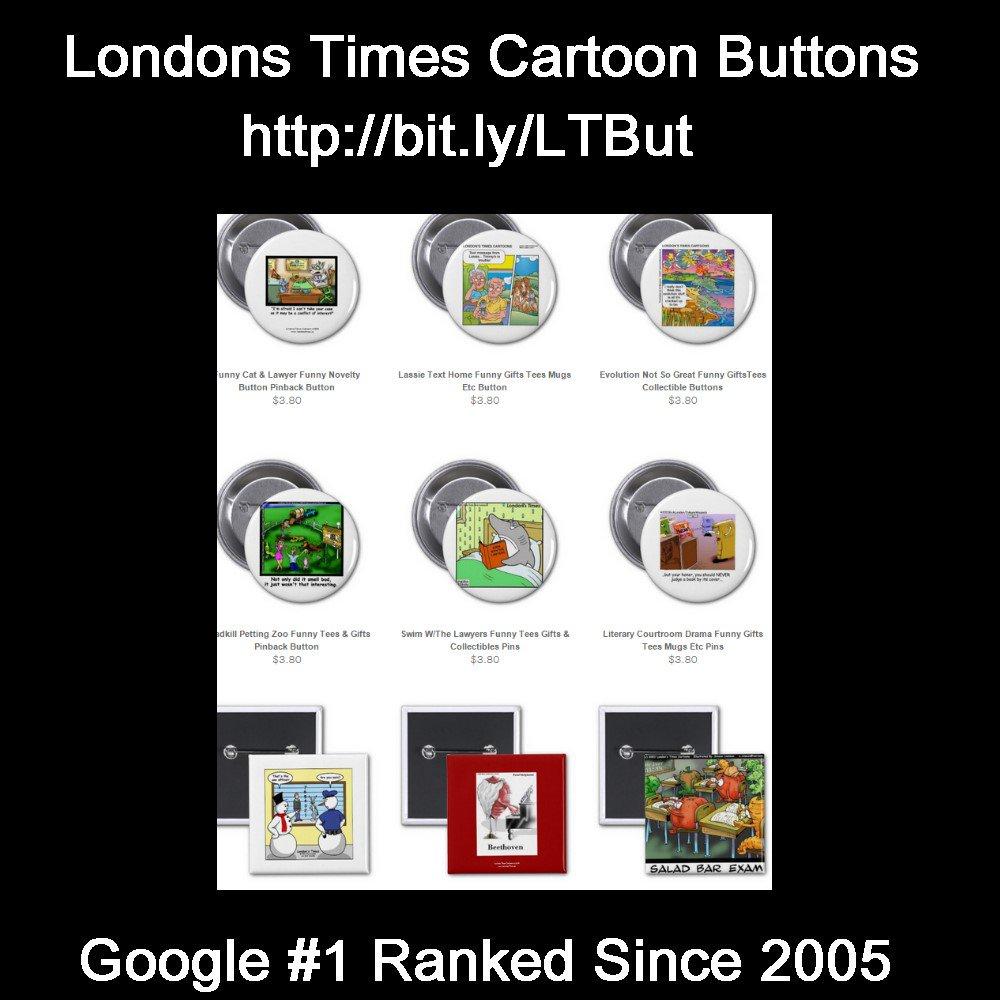 Need #funny #gifts? #Awardwinning #Buttons 15%off @LTCartoons EndsSat @zazzle Code ZAZZLESAVING @c/o #Comic #funny  http:// bit.ly/LTBut  &nbsp;  <br>http://pic.twitter.com/fvarMeonvP