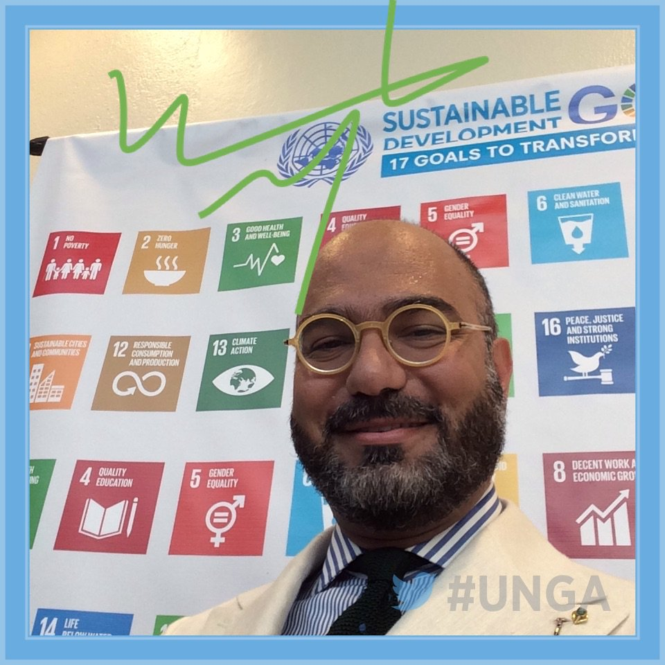 .@NaciriMohammad is discussing @UNFPA's work in the Arab region at #UNGA this week. https://t.co/IfCHf7cPRa https://t.co/zfJ2ZZAr8b