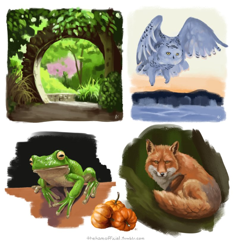 From my first group study stream! Thanks for being there and drawing with me &lt;3 #art #digital #studies #animals #digitalart #painting<br>http://pic.twitter.com/bCOHbJmNWV