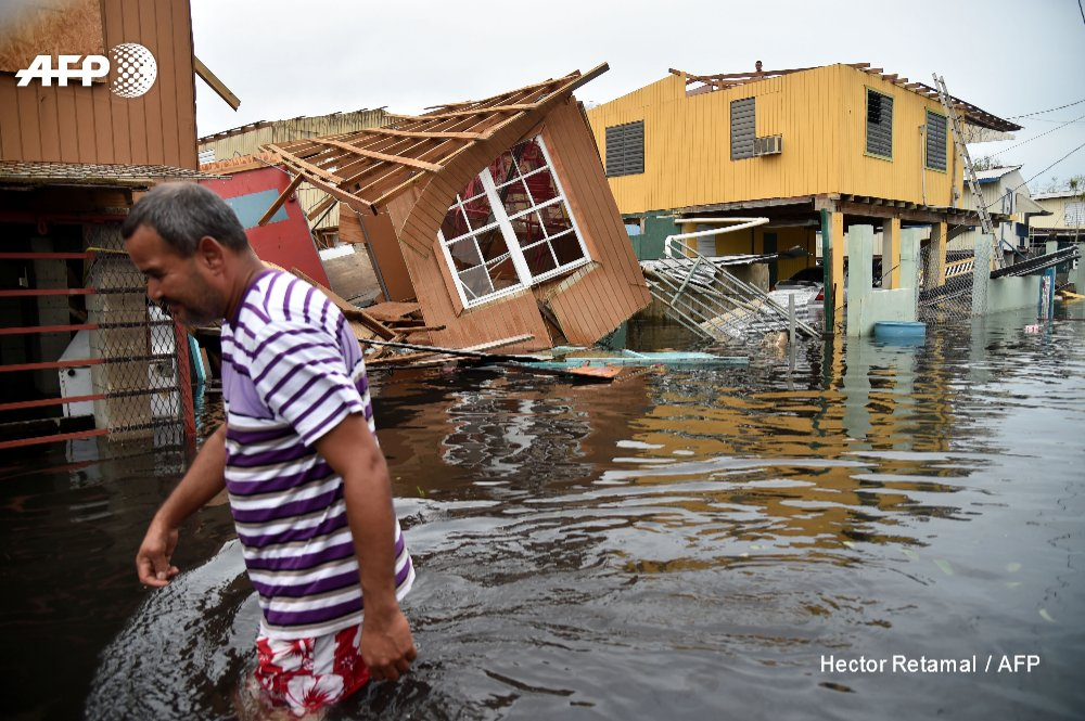 Some 70,000 people are ordered to evacuate in northwest of Puerto Rico as a 1920s dam is in danger of collapsing https://t.co/yAQBT8XuEy