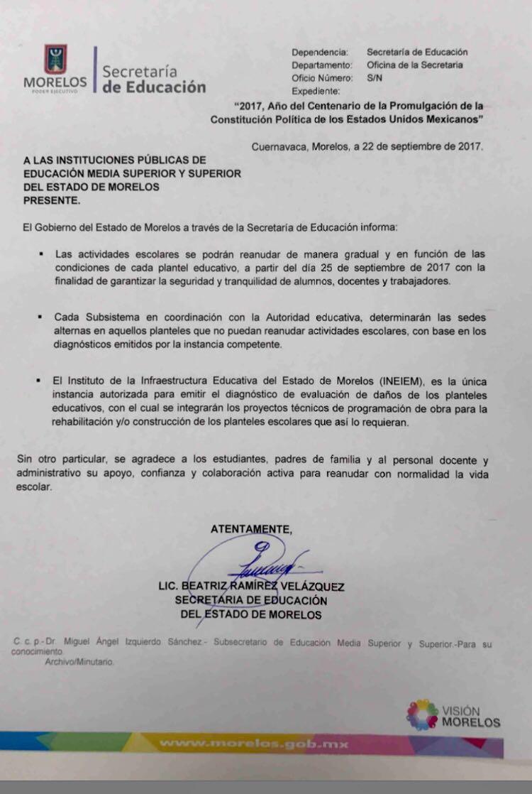 Educación Morelos on Twitter: \