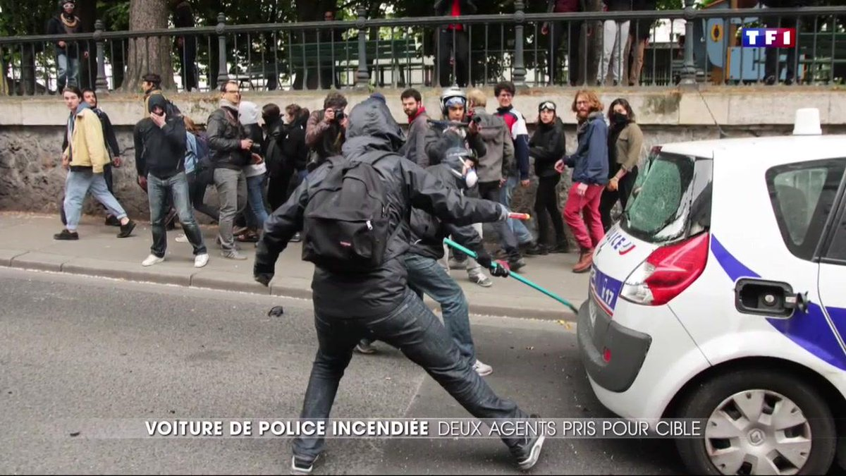 Voiture de police incendiée à Paris : 4 et 8 ans de prison ferme requis contre les deux meneurs présumés https://t.co/m3S1sqtq6z
