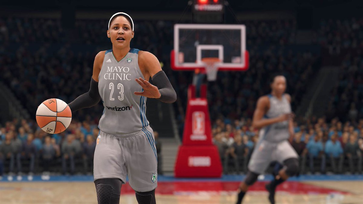 'We got next': WNBA makes video game debut https://t.co/OvFZ2sJdCu