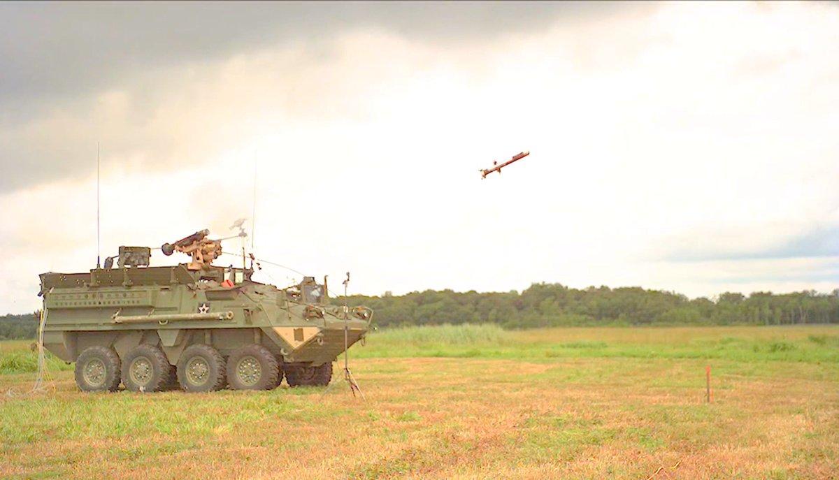 #VIDEO #1080p   #US #Stryker 8X8 #IFV&#39;s 30mm #Autocannon &amp; #Javelin #ATGM #Live #Firing  https://www. youtube.com/watch?v=q8DQiI GZcUk &nbsp; … <br>http://pic.twitter.com/FJS90K9c2n