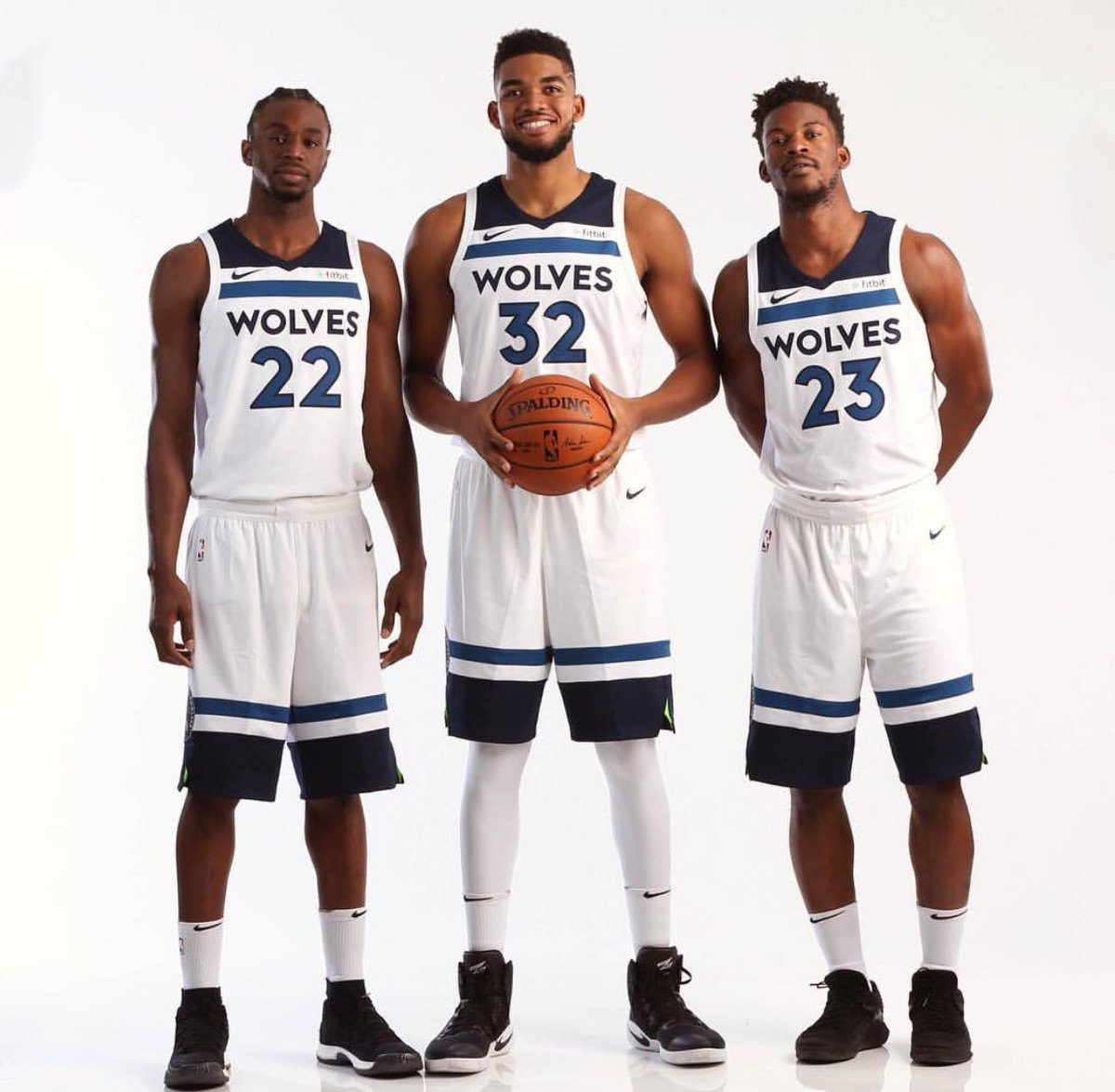 The new generation T-Wolves #Minn finest #Wolfpack #NBA @JimmyButler @KarlTowns @22wiggins new look new season. #RankUpSports<br>http://pic.twitter.com/3h5Y37Fnxi