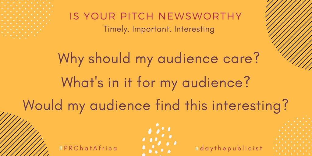 Want to #pitch the #media but can&#39;t determine if your #content is newsworthy? Check this out #PRChatAfrica #publicrelations<br>http://pic.twitter.com/EBqNhDPSOs