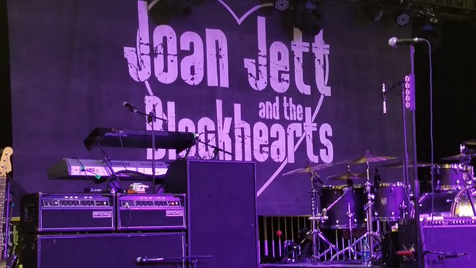 Happy Birthday Joan Jett.  Can\t wait for the party to get started.