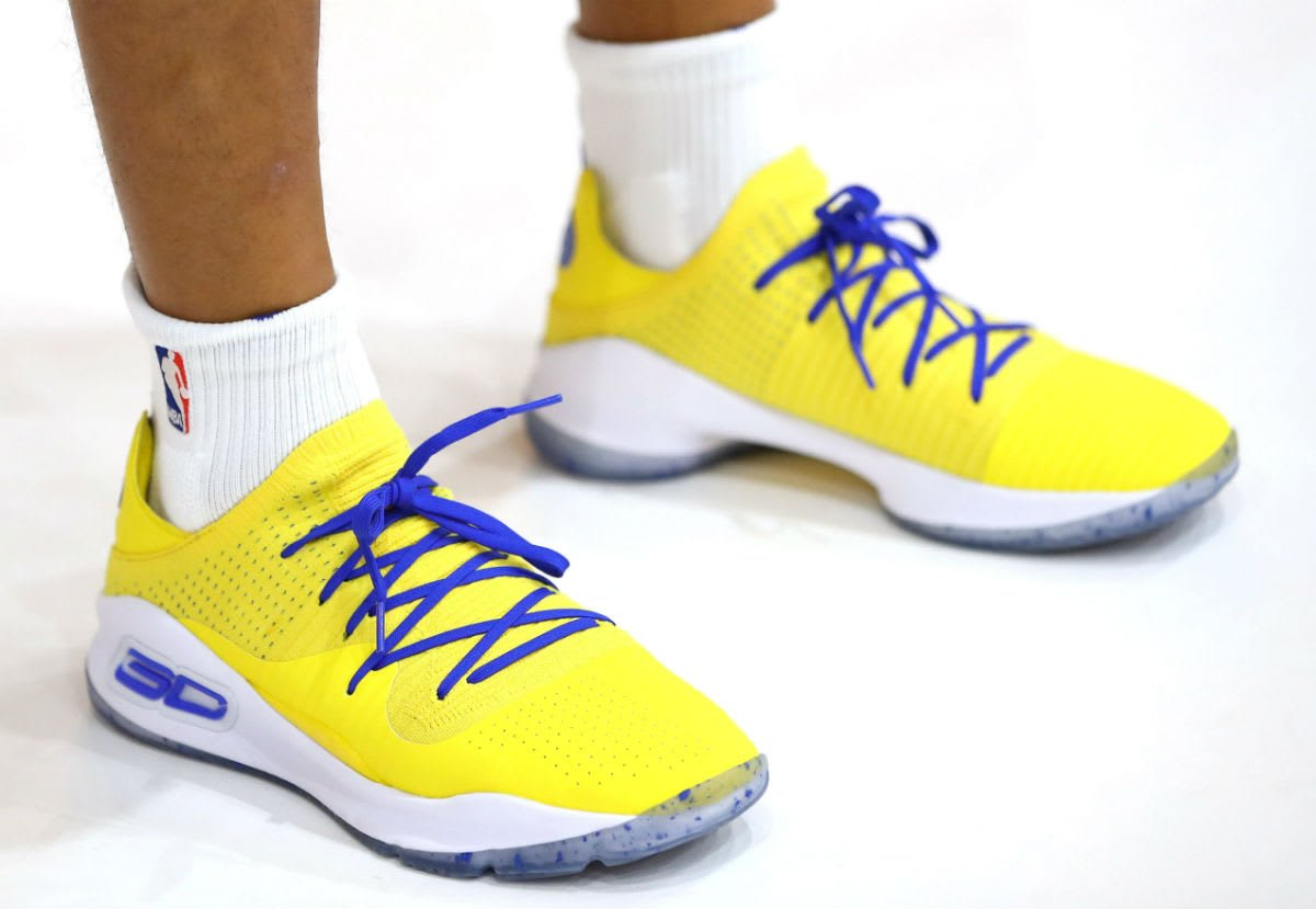 bc4d6fe06663 solewatch stephencurry30 debuts a new ua curry 4 low at media day