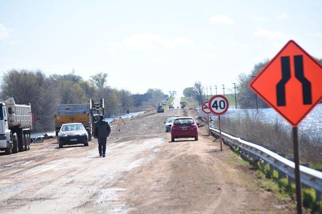 Ruta 35 Norte | Se habilitó el paso para el tránsito liviano