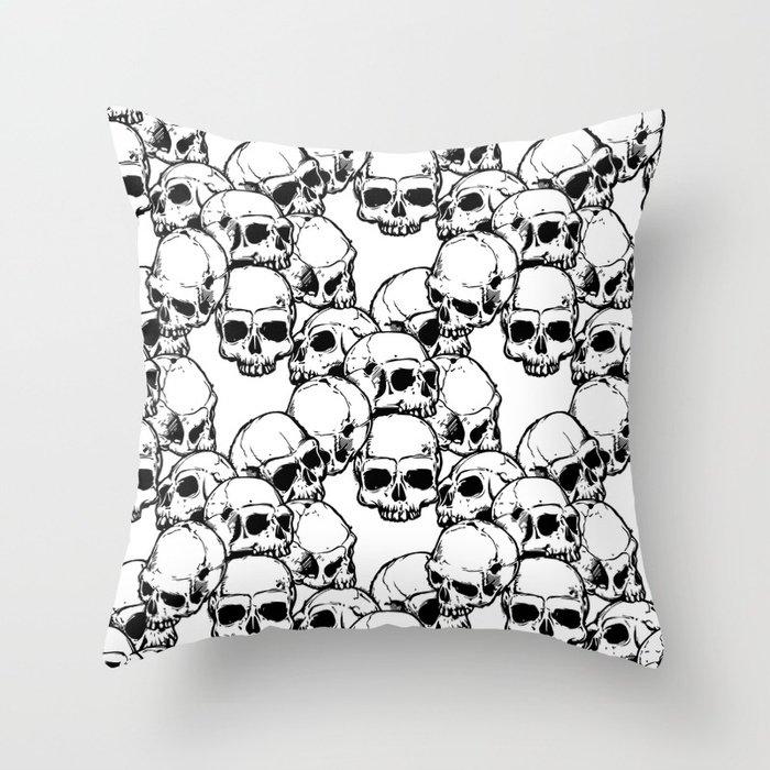 &quot;Skool&quot; Pattern   https:// goo.gl/4hySmf  &nbsp;   #skull #pattern #drawing #blackandwhite #pillow #backpack #iphonecase #comforter #giftideas <br>http://pic.twitter.com/UjDYar7tux