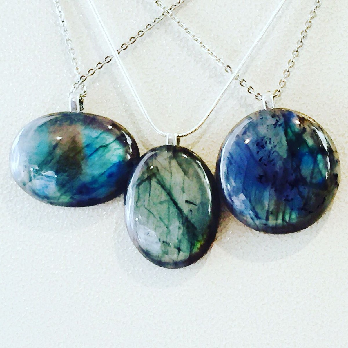 #Labradorite #Necklace 3 Styles #Handmade #Jewelry  https:// buff.ly/2jQrb3r  &nbsp;   #wearableart #healinggemstones #shop #shopsmall #giftideas #gift<br>http://pic.twitter.com/73NQYZ1aSX