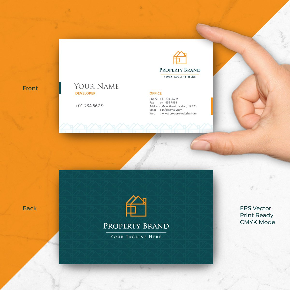 Pixiagraphics on twitter business cards design template for pixiagraphics on twitter business cards design template for property or real estate company link to buy httpstfirvdux4hz realestate property reheart Image collections