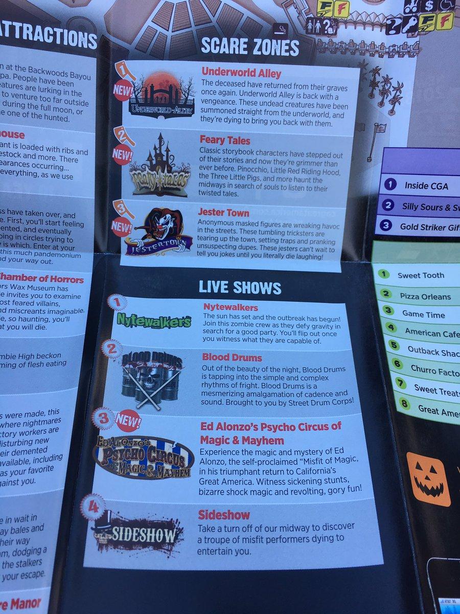 great america halloween haunt hours - Halloween Haunt Schedule