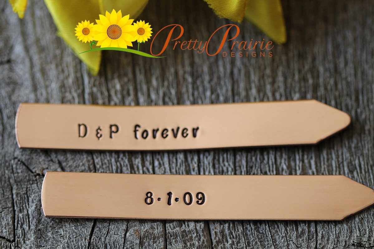 Custom Collar Stays, Personalized Initials w/Date - Set of 2 collar Stays #handmade #present to Husband #anniversary  http:// ow.ly/onZp30fjlb2  &nbsp;  <br>http://pic.twitter.com/dbO2y11ouV