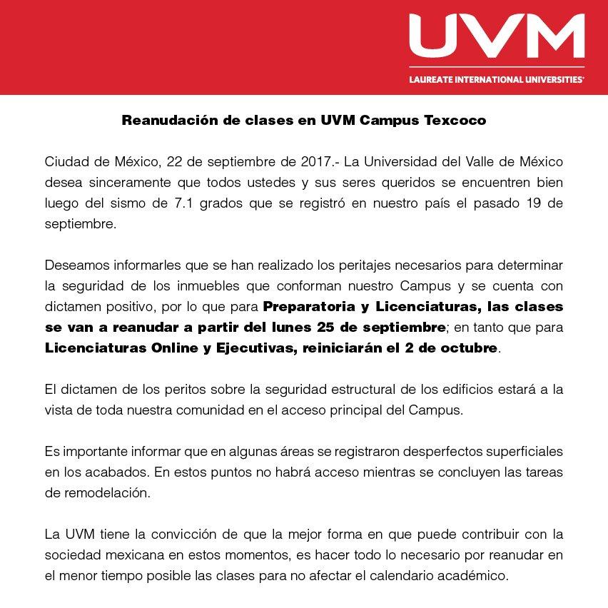 Prensa UVM on Twitter: \