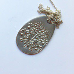 Tree pendant-handmade silver jewelry #handmadejewelry #handmade #silverjewelry  http:// abaiye.com  &nbsp;  <br>http://pic.twitter.com/enTjkNwDyr