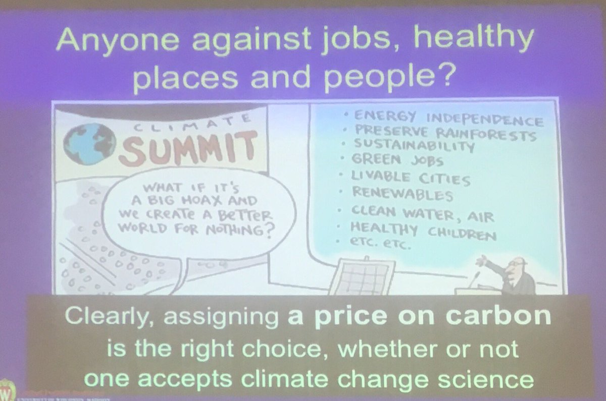 Anyone against jobs, healthy places and people? We need a price on carbon.@jonathanpatz #RenewableEnergy #cleanenergy #rotary #ESG <br>http://pic.twitter.com/ZKF1bN4OKy
