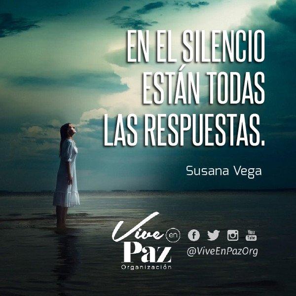 Vive En Paz Di Twitter Disfruta Del Silencio Paz