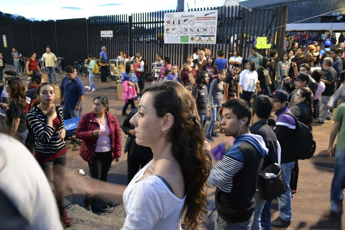 Los millennials sacando la cara por México. ¡Gracias!