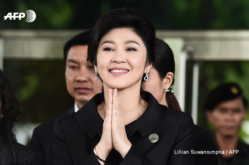 Thai junta accuses police of helping sneak ex-prime minister Yingluck Shinawatra out of the country in August https://t.co/YvjXpWteGR