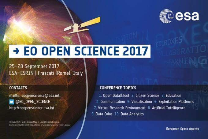 #datacube Lightning talk on Monday 25/09/2017 @17:14 + live demo @booth #5 Big Hall. #EO #OpenScience 2017   https:// m.youtube.com/watch?v=b167OG kwvFw&amp;feature=youtu.be &nbsp; … <br>http://pic.twitter.com/vqIAhqnvgg
