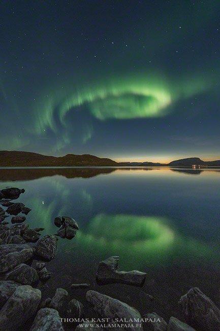 #BuenosDias #FelizSabado  Auroras en la Laponia #Finlandia 🇫🇮 Fotograf...