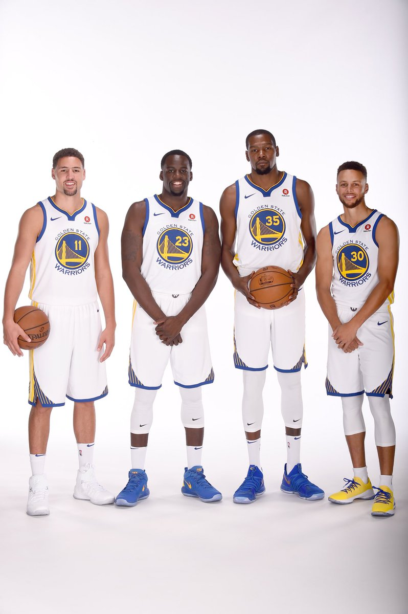 The CHAMPS are BACK!   #NBAMediaDay #GSWMediaDay
