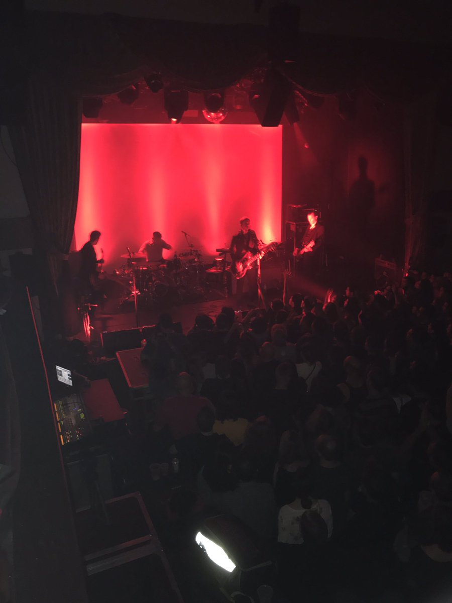 New York cares! Thank you @Interpol for a magical night of bright lights