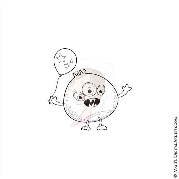 Cute monster with balloon DIY party invites #Cute #monster #balloon #DIY #party #invites  https:// goo.gl/77ib81  &nbsp;  <br>http://pic.twitter.com/7SV2EkatcQ