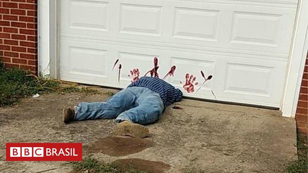 A macabra decoração de Halloween que gerou uma emergência policial nos EUA https://t.co/K4dQsymUTN