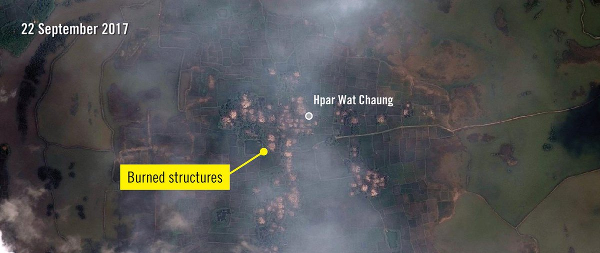 #amnesty says fires continue at #Rohingya villages in #Myanmar  https:// goo.gl/WFxg6N  &nbsp;   @hrw @IntlCrimCourt @WFP @IHHen @OIC_OCI @StateCrime <br>http://pic.twitter.com/yVJuNtj9SV