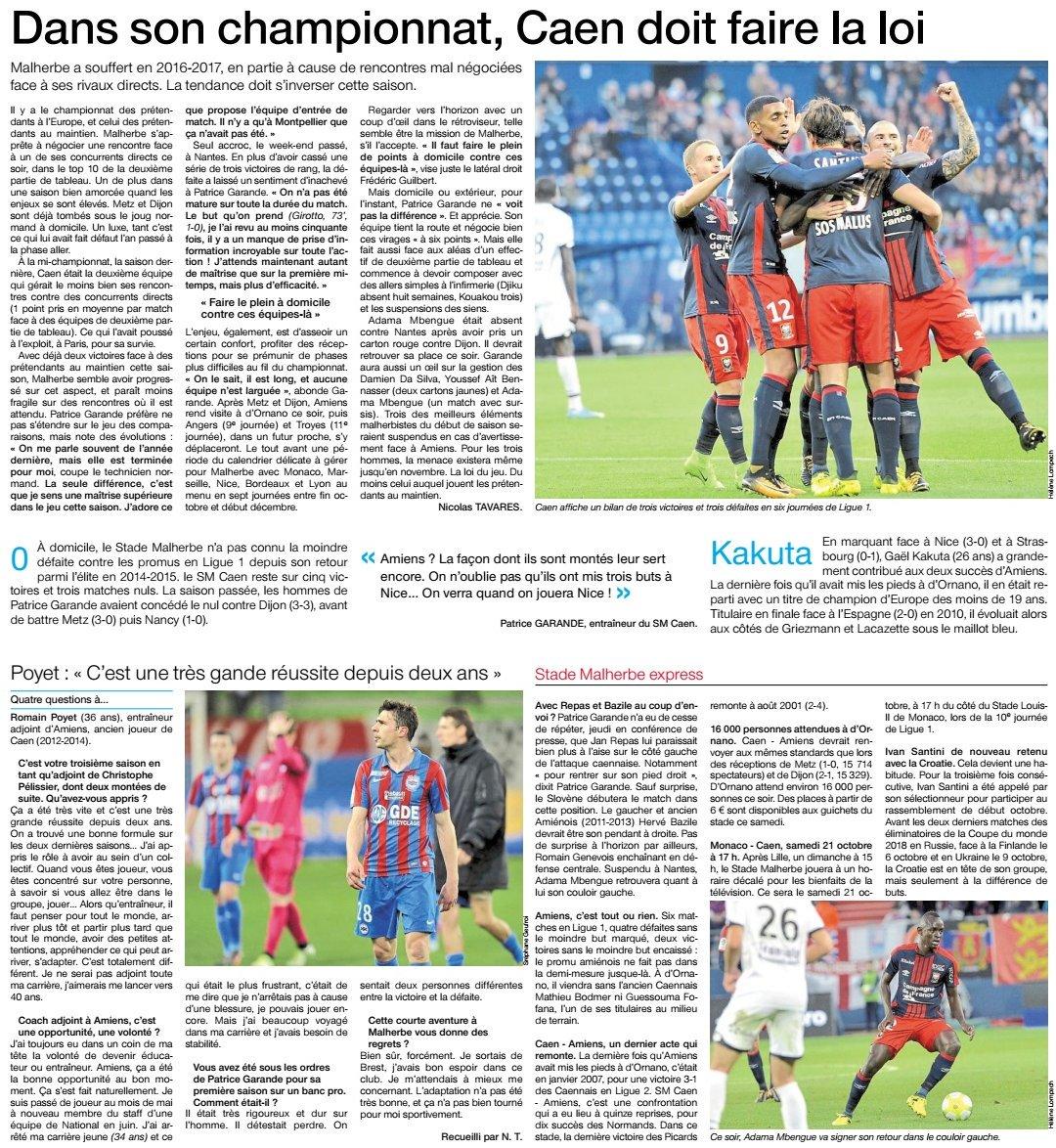[7e journée de L1] SM Caen 1-0 Amiens SC DKYpsITWAAAgX8b