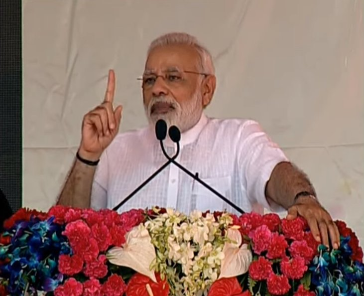 'Swachhta' has to become 'Swabhav'. A cleaner India will also be a healthier India : PM Shri @narendramodi