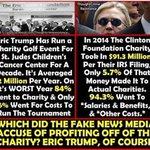 #ClintonFoundation #EricTrump #CrookedHillary