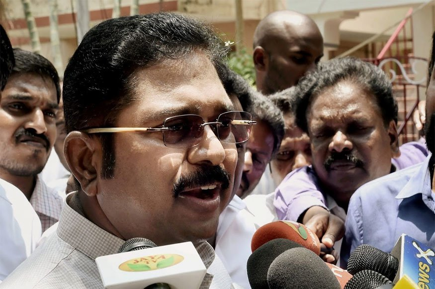 #BREAKING -- Dinakaran attacks EPS and OPS again, says it's not just a conspiracy, it's a 'Droham' (betrayal)