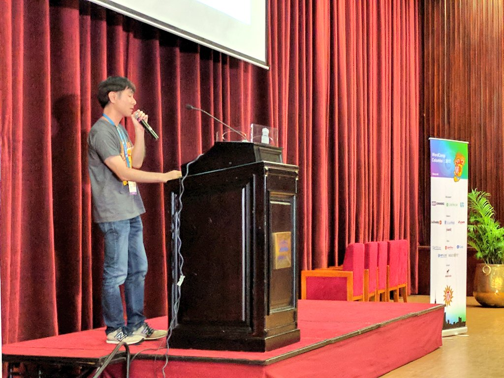 test Twitter Media - Here we have @takayukister developer of Contact Form 7, the most popular plugin in #WordPress talking about this 10yrs experience! #wccmb https://t.co/ejqQX65v2U