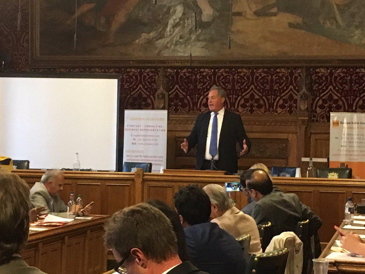 Hon @BobBlackman speaks @ #IndiaHealthcareSummit @ #UKparliament #London on 12th Sep #India #UK #healthcare #SwasthaBharat #UKIndia #IndiaUK<br>http://pic.twitter.com/bex4CPPgOd