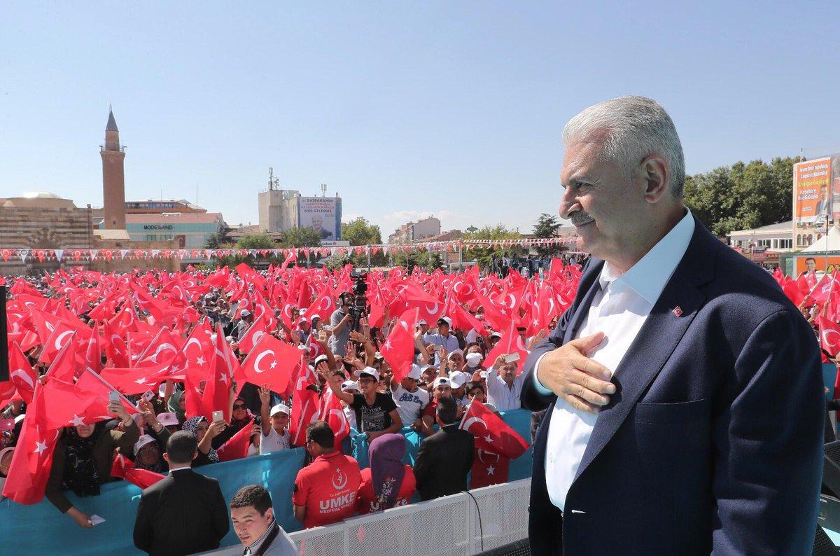Başbakan Yıldırım, 30. Ahilik Haftası Kutlamaları kapsamında Kırşehirl...