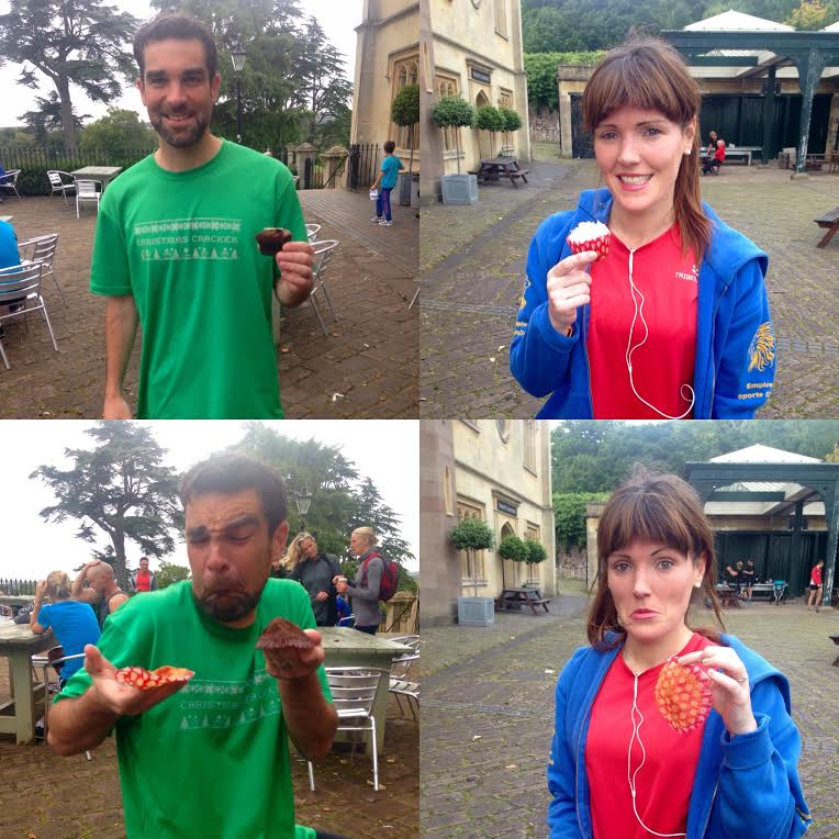 100th #parkrun = Any excuse to have some #cake ... Now the cake has all gone, haha! <br>http://pic.twitter.com/HU6InQkjVw