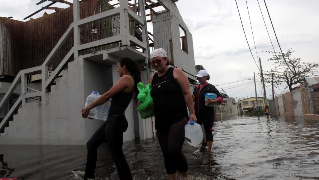 Ouragan Maria: un barrage cède à Porto Rico, 70 000 personnes évacuées https://t.co/z4bkf5ytFm