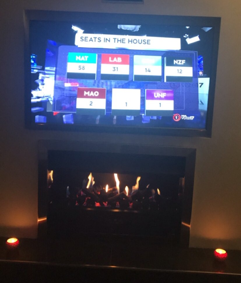 I&#39;ve got two TV&#39;s and a computer capturing the #Elections2017 coverage on all the major networks. Exciting times! <br>http://pic.twitter.com/3MvihjiyIR