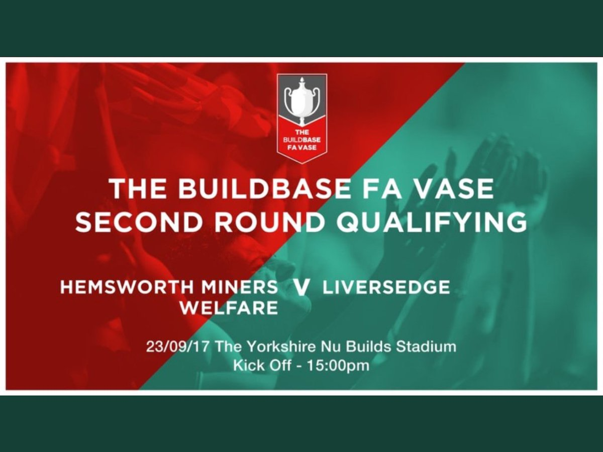 Yorkshire nubuilds on twitter good luck hemsworthmwfc for your yorkshire nubuilds on twitter good luck hemsworthmwfc for your fa vase cup tie vs liversedgefc well be cheering you on thebootifulgame reviewsmspy