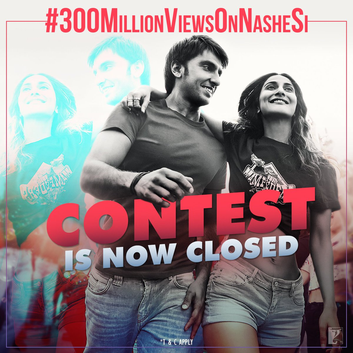 #300MillionViewsOnNasheSi contest is now closed. Thank you all for you...