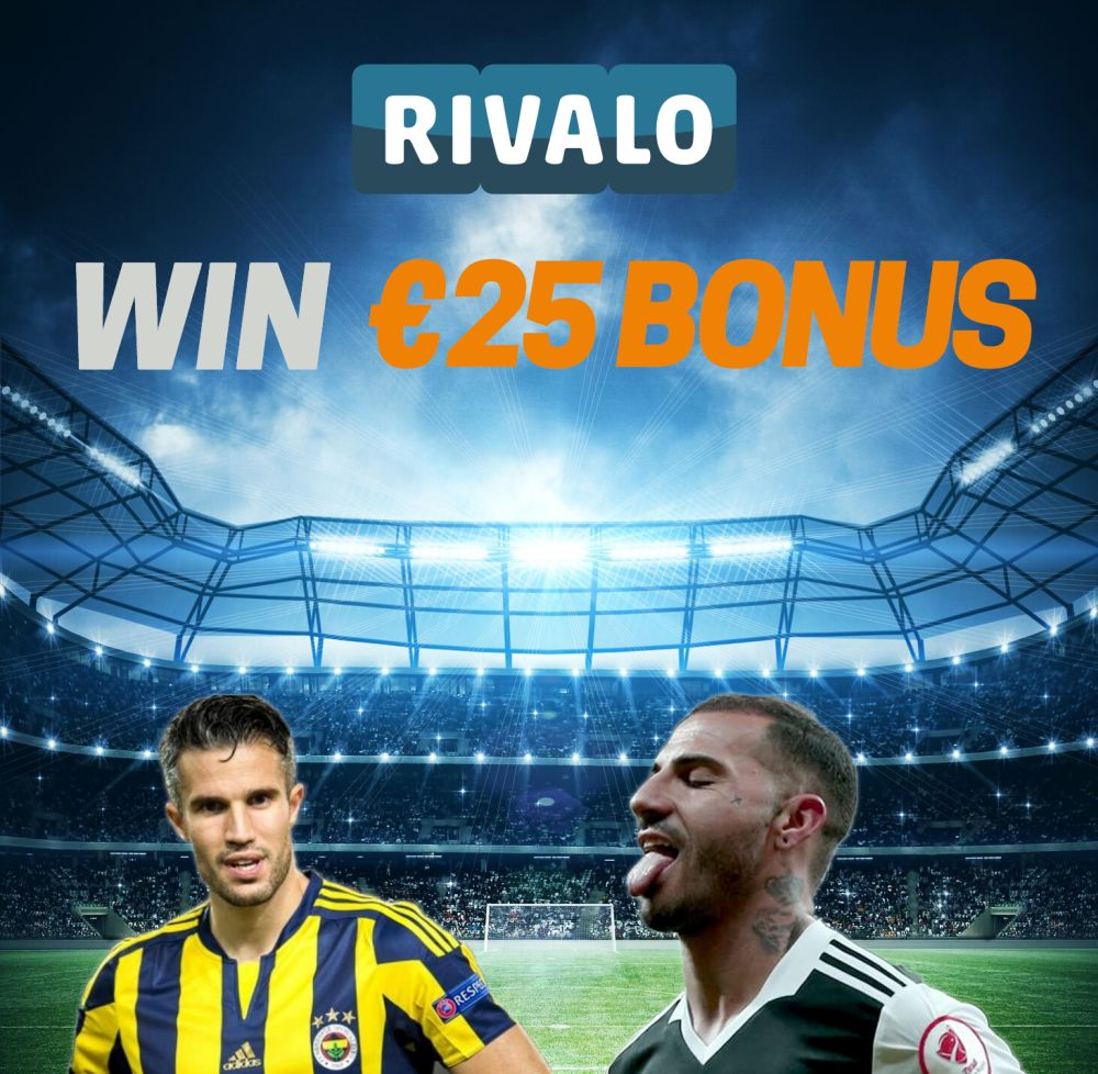 It&#39;s  FENERBAHÇE x BESIKTAS Day!  Retweet, guess the Score and win a €25 BONUS!  #RivaloSports #fenerbaçe #beşiktaş #derbi<br>http://pic.twitter.com/BTX1Fme57J
