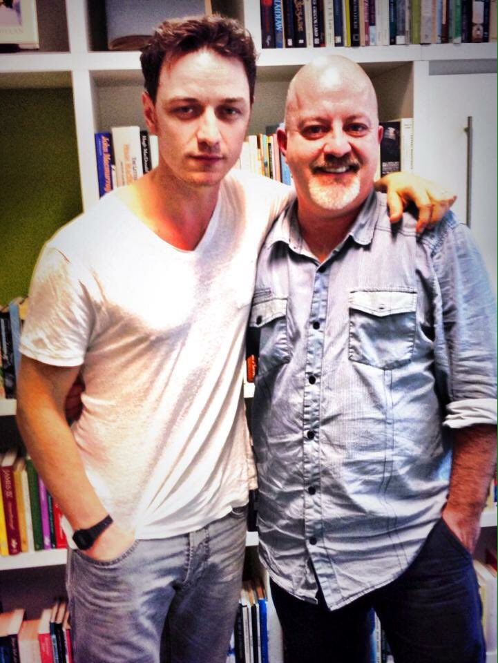 Four years ago today I interviewed the very talented #JamesMcAvoy - we talked @IrvineWelsh&#39;s #Filth.<br>http://pic.twitter.com/OedyfMbLza