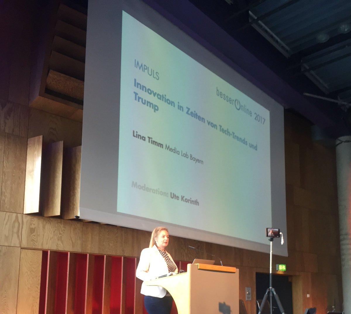 Livestream der #djvbo Keynote von @Luisante zu medialen Innovationen g...
