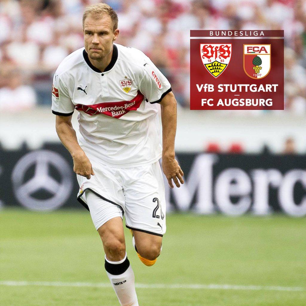 Matchday! 👊🏼⚪️🔴 #VfBFCA #Bundesliga https://t.co/6i4faBFEJF