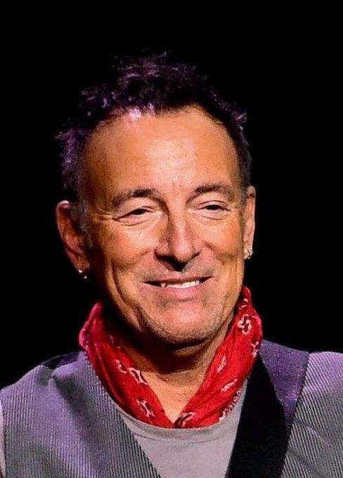 Congratulations! HAPPY! 68th! BIRTHDAY!  Bruce! Springsteen! Sweeet! Way! Cool! Aaaaay!