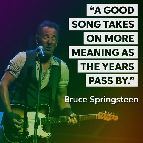 """Happy 68th birthday to \""""The Boss\"""" a.k.a. Bruce Springsteen!"""