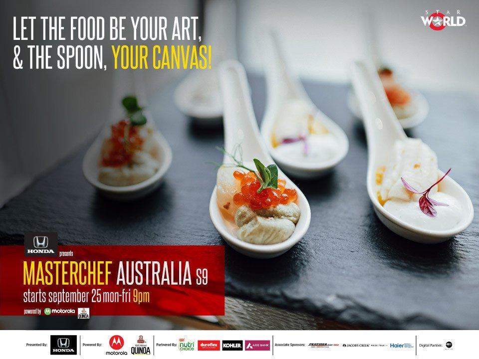 Decorate food on a spoon. Tag @StarworldIndia & use #MCASpoonfulof...